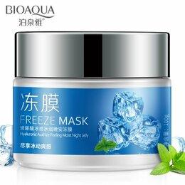 Антивозрастная косметика - Маска для лица с экстрактом мяты Bioaqua Freeze…, 0