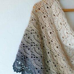 Шарфы и платки - Вязаная шаль, 0