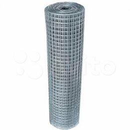 Заборчики, сетки и бордюрные ленты - Сетка сварная в рулонах 1х25м яч.25х25мм толщ.…, 0