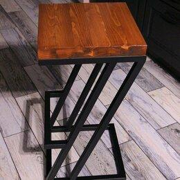 Мебель для учреждений - Барный стул табурет лофт, 0