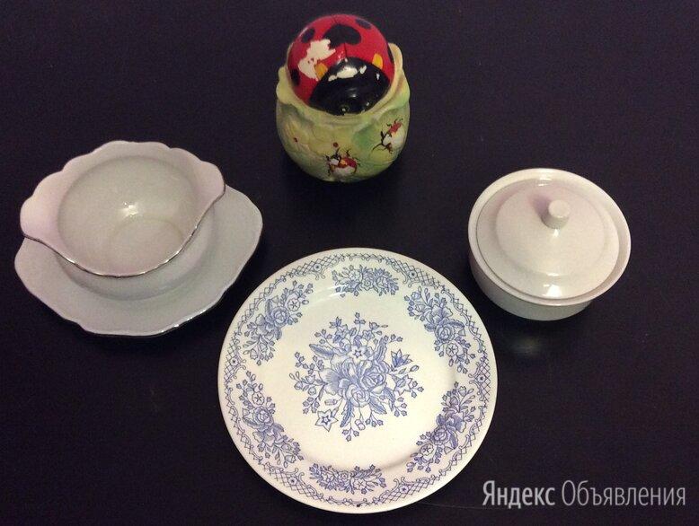 Посуда Дулево + Czech Republic по цене 250₽ - Солонки, перечницы и ёмкости для специй, фото 0