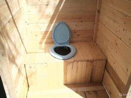 Готовые строения - ТУАЛЕТ деревянный дачный из сухой обрезной доски…, 0