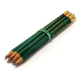 Канцелярские принадлежности - Набор чернографических карандашей «Koh-i-noor» с ластиком, 0