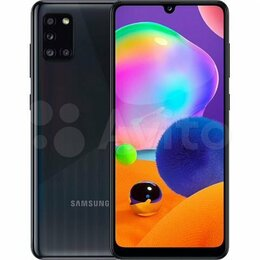Мобильные телефоны - Samsung Galaxy A31 4/64GB Черный, 0