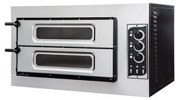 Жарочные и пекарские шкафы - Печь для пиццы Prismafood BASIC 2/50 VETRO, 0