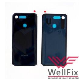 Корпусные детали - Задняя крышка для Huawei Honor View 20 черная, 0