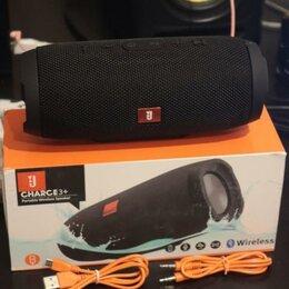 Портативная акустика - Портативная Bluetooth колонка Charge 3+ чёрная, 0