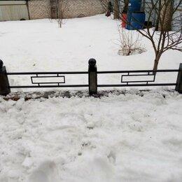 Ритуальные товары - Оградка с бетонными столбиками, 0