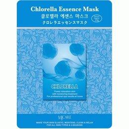Маски - Тканевая маска с экстрактом хлореллы Chlorella Essence Mask, 0