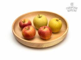 Тарелки - Тарелка деревянная большая D29 H5. Деревянная…, 0