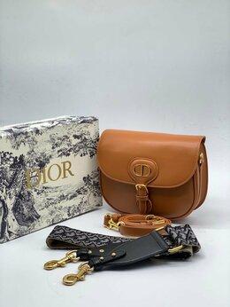 Сумки - Женская сумка Christian Dior Bobby коричневая…, 0