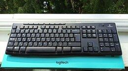 Клавиатуры - Клавиатура Logitech K270 в отличном состоянии, 0