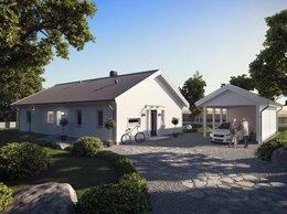 Готовые строения - Дом из газобетона с фасадом из фиброцементной…, 0
