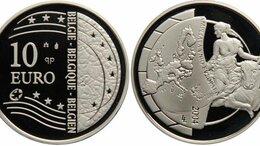 Монеты - 10 евро, серебро, 0