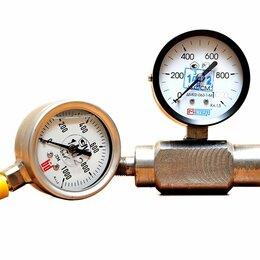 Измерительные инструменты и приборы - Манометр с адаптером вибрустойчивый МА100ВУ63, 0