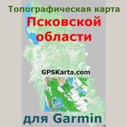 Карты и программы GPS-навигации - Псковская область v2.0 для Garmin (IMG), 0