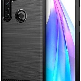 Чехлы - Чехол для Xiaomi Redmi Note 8T цвет Black (черный), серия Carbon от Caseport, 0