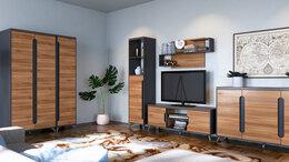 Кровати - Комплект мебели в гостиную Сканди (Орех Лион)…, 0