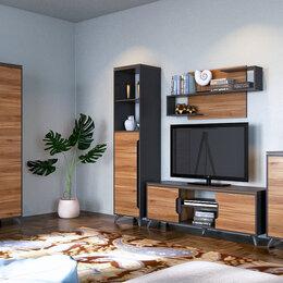 Кровати - Комплект мебели в гостиную Сканди (Орех Лион) нновая с доставкой в рассрочку, 0