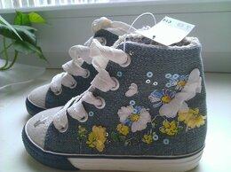 Обувь для малышей - Высокие джинсовые кеды Next. Оригинал, 0