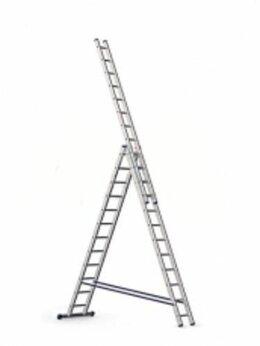 Кровля и водосток - Лестница 3-х секц.алюмин. 3,95 м 3х14  6314…, 0
