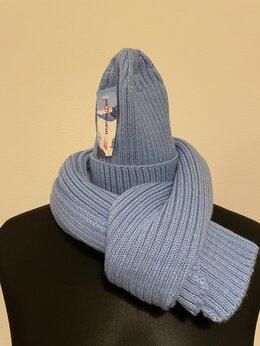Головные уборы - Комплект шапка и шарф (новый), 0