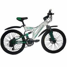 Велосипеды - Велосипед горный ABD-2406 (DISC) бело-красный, 0