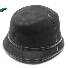 Головные уборы - Панама шляпа меховая мужская зимняя (т. коричневый), 0