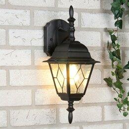 Уличное освещение - Vega D черный Уличный настенный светильник…, 0
