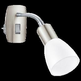 Ночники и декоративные светильники - 92935 Настенный светильник-ночник со штепсельной…, 0