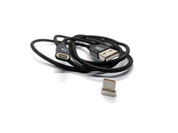 Зарядные устройства и адаптеры - Магнитный кабель Type C Pzoz, 0