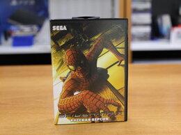 Игры для приставок и ПК - Картридж Sega Spider-Man, 0