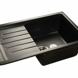 Кухонные мойки - Кухонная мойка 12 черная, 0