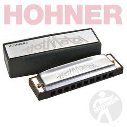 Губные гармошки - Hohner M57210X Hot Metal - Гармошка губная диатоническая, A-major, 0