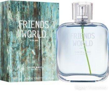 FRIENDS WORLD FOR HIM ORIFLAME 75 ML по цене 550₽ - Парфюмерия, фото 0