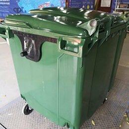 Мусорные ведра и баки - Пластиковые мусорные контейнеры 1100л, 0