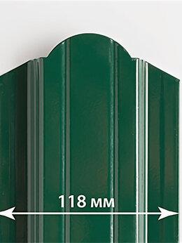Заборы и ворота - Металлический штакетник BARRERA 118мм, 0