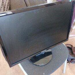Мониторы - Мониторы 22 дюйма Samsung 2243nwx 1680*1050 vga, 0