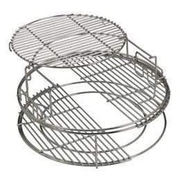 Решетки - Набор многоуровневых стальных решеток для гриля L , 5 частей  Big Green Egg, 0