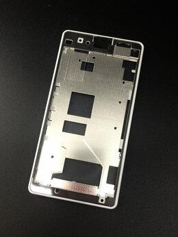 Корпусные детали - Рамка под дисплей для Sony Xperia Z1 Compact белая, 0