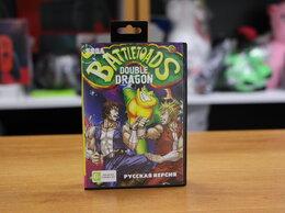 Игры для приставок и ПК - Картридж Sega Battletoads + Double Dragon, 0