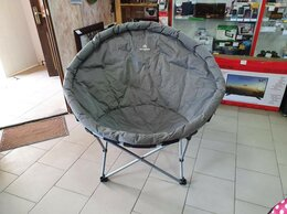 Походная мебель - Кресло складное кемпинговое круглое Outventure, 0