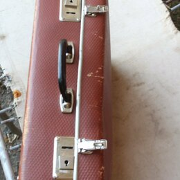 Чемоданы - чемодан фибра б/у, 0