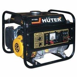 Электрогенераторы - Электрогенератор Huter (Хутер) HT 1000 L, 0