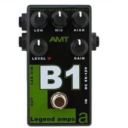 Процессоры и педали эффектов - AMT Electronics B-1 Legend Amps Гитарный предусилитель, 0