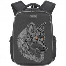 Рюкзаки, ранцы, сумки - Рюкзак школьный ортопедический Grizzly Волк 11 л R, 0