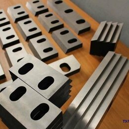 Принадлежности и запчасти для станков - Ножи 360х75х25мм для гильотины НБ5222. Нож  для резки металла, 0
