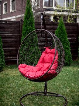 Подвесные кресла - Кресло подвесное Кокон с ротангом, 0