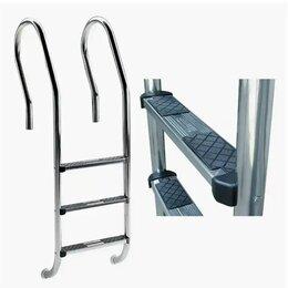 """Лестницы и поручни - Лестницы нержавеющие с накладкой """"люкс"""", 0"""