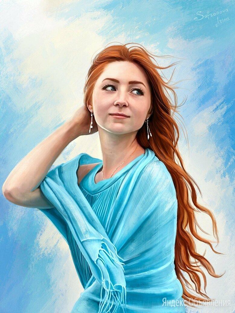 Портрет по фото на холсте. по цене 3800₽ - Дизайн, изготовление и реставрация товаров, фото 0